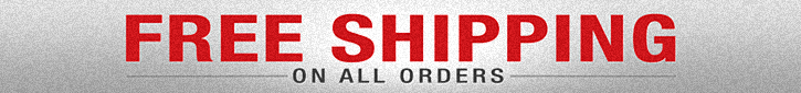 FREE SHIPPING - No Minimum Orders or Restrictions