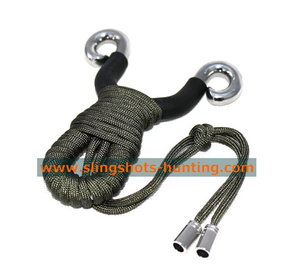 Professional Hunting Slingshot Hunter Tool 4 Bands Outdoor Hunting Tool - Click Image to Close