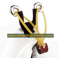 Powerful Slingshot Hunting Outdoor Hunter Shot Catapult Launcher 4 Bands